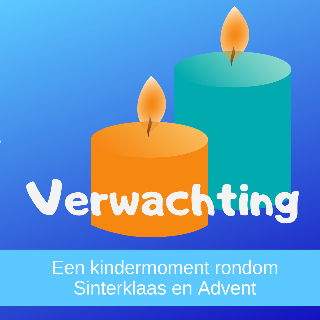 Verwachting een kindermoment in de kerkdienst rondom Sinterklaas en Advent