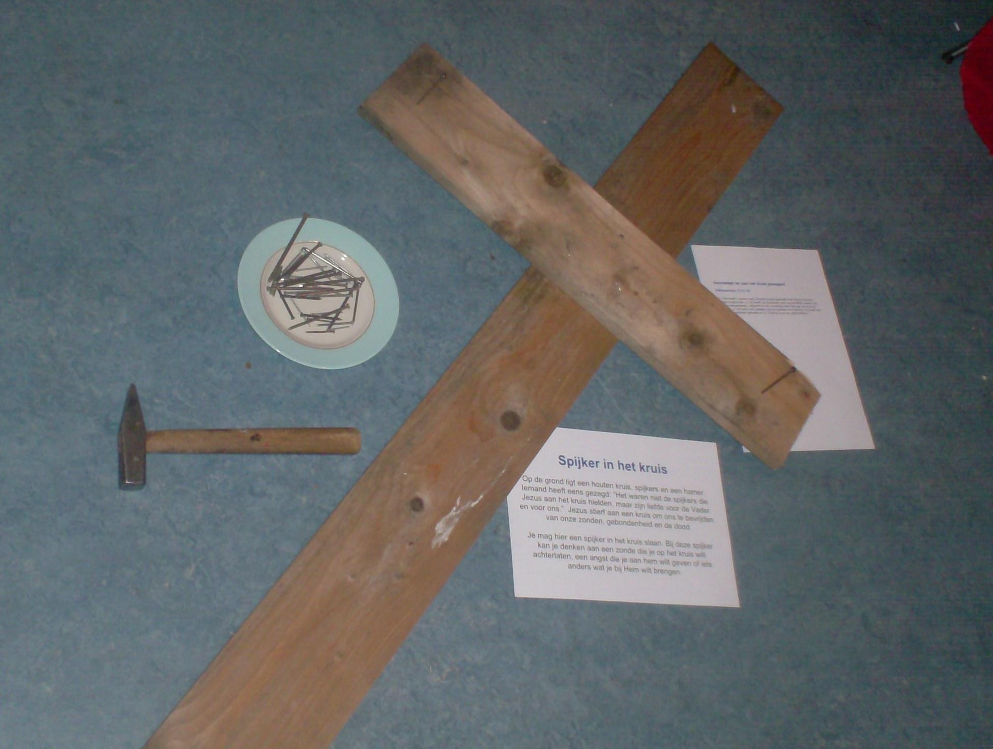 Betere Creatief gebed: Spijker in het kruis JY-92