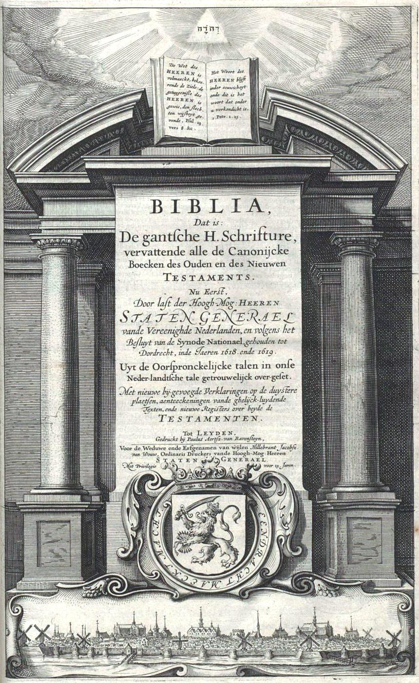Statenvertaling title page